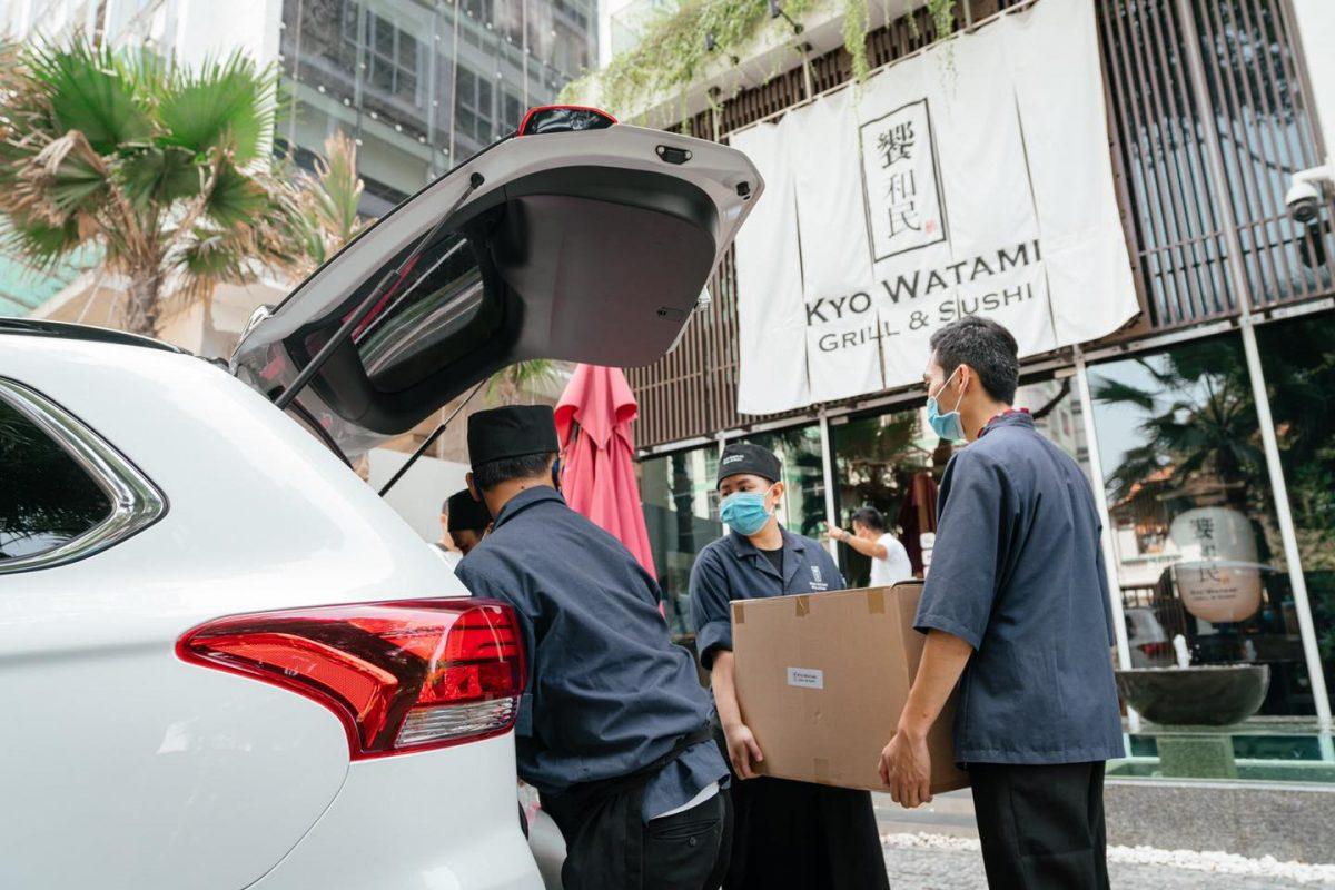 120 suất ăn từ Kyo Watami, SonKim Retail dành tặng quý y bác sĩ và CBNV bệnh viện Chợ Rẫy