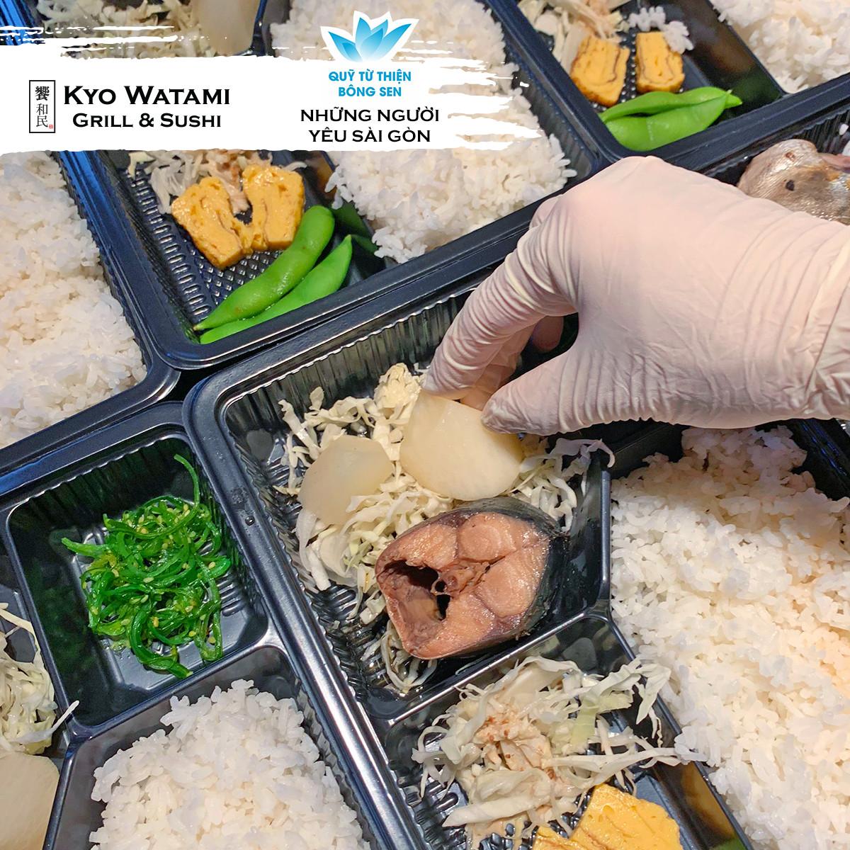 Quỹ Bông Sen Vàng đồng hành cùng SonKim Retail & Kyo  Watami gửi 1,412 suất ăn đến bệnh viện chợ rẫy